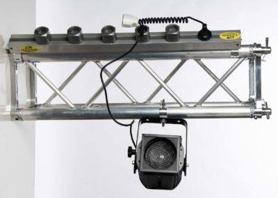 Easysystem – Barra elettrificata per tralicci e americane con prese amovibili