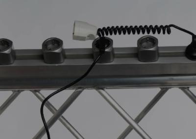 Easysystem = Profilo elettrificato con prese amovibili