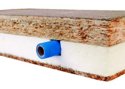Sept floot = Sistema di riscaldamento a pavimento flottante a secco