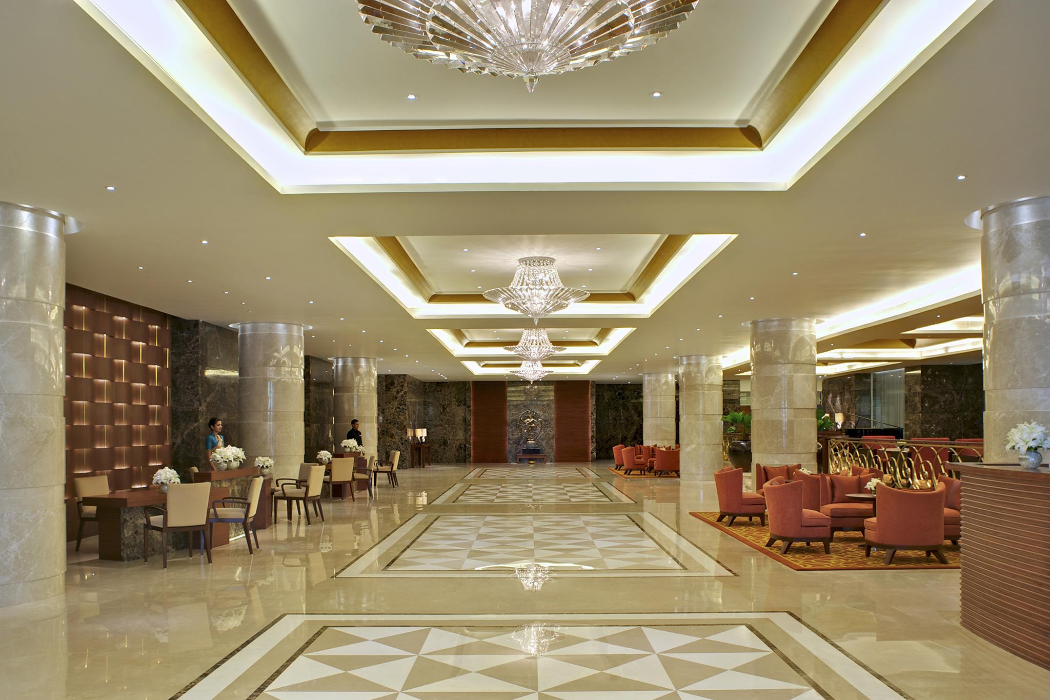 Lobby at Taj Coromandel