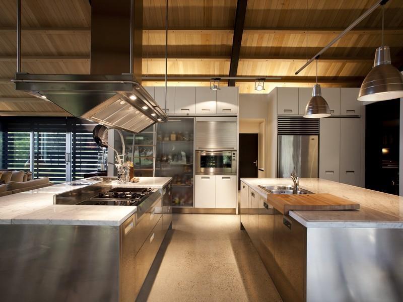 cucina doppia isola