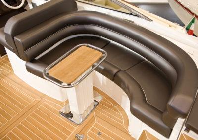 divano nautico in ecopelle