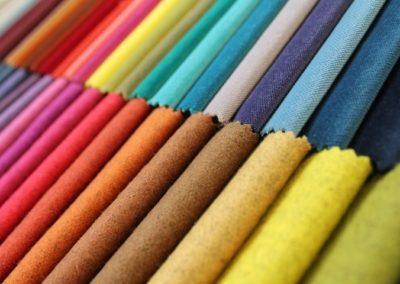 gamma colori tessuti d'arredo